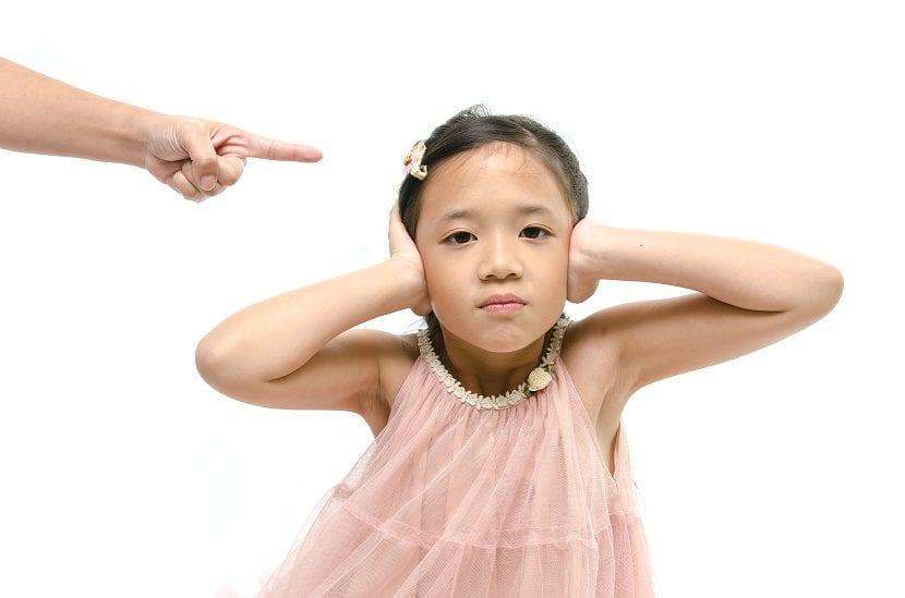 castigo psicológico en niños
