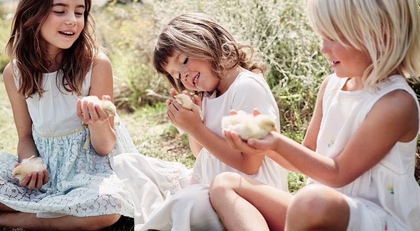 moda infantil para niños y niñas en verano