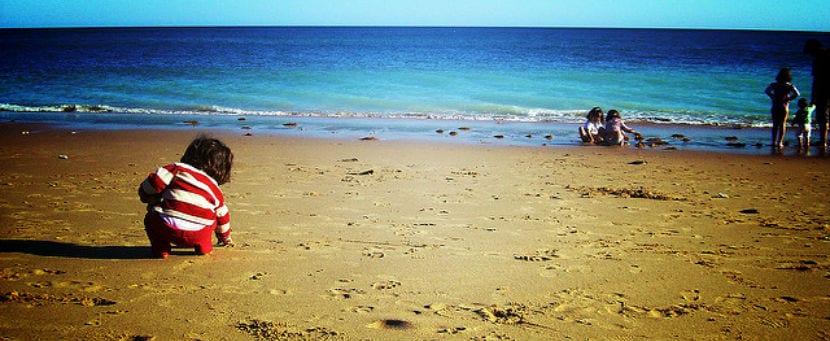 calor y playa