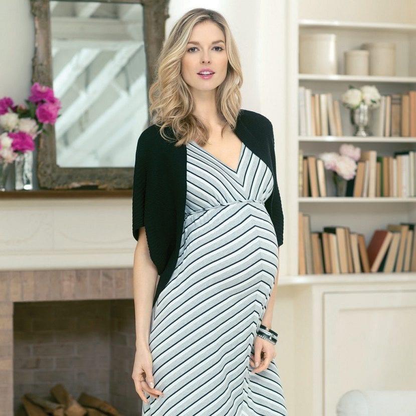 moda mujer embarazada