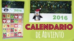 calendario adviento navidad goma eva donlumusical