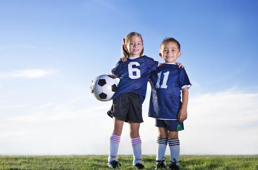 deporte en ninos y ninas