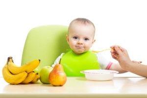 alimentación sólida bebés
