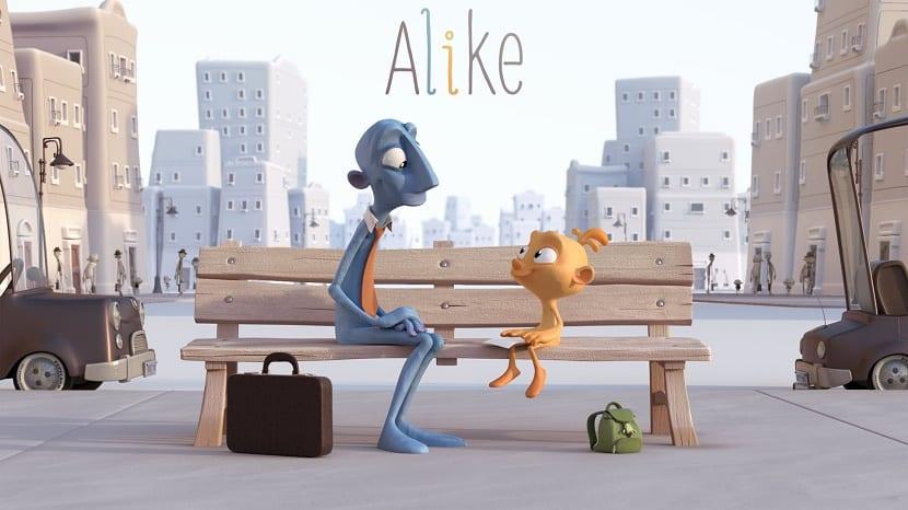 Corto de Alike