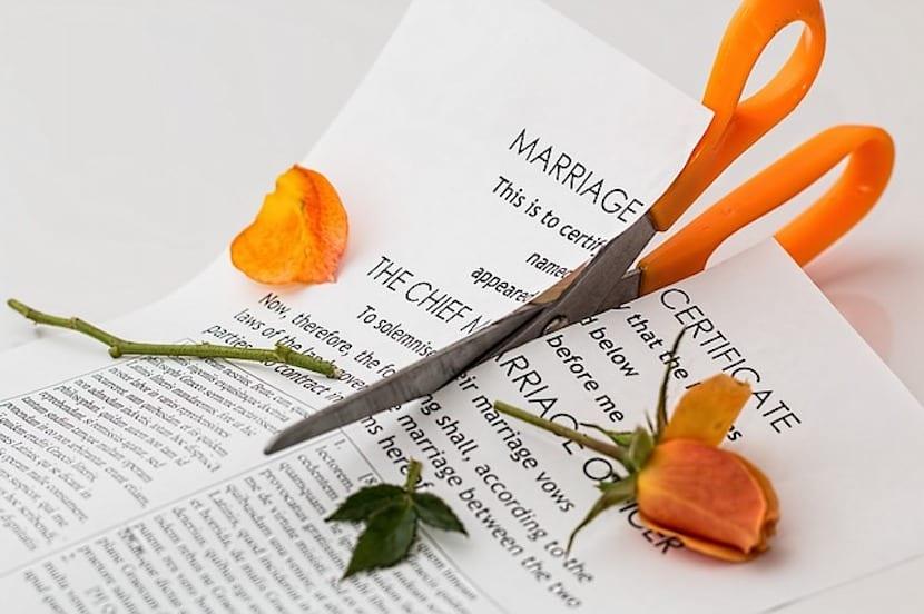 Sentencia de divorcio