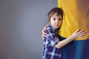 angustia separacion niños 1 año