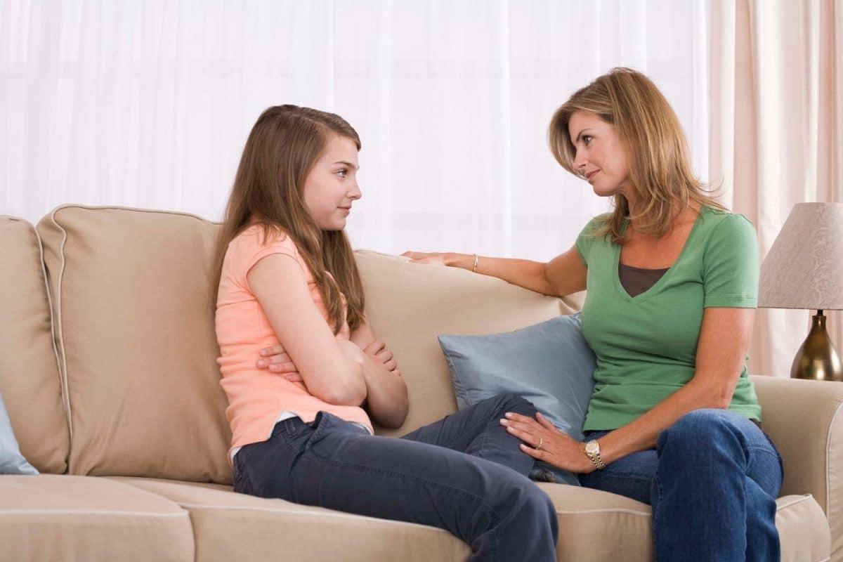 escucha activa madre e hija