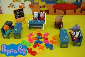 Peppa Pig en el colegio