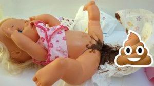 Nenuco se hace caca
