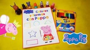 Manualidades con Peppa Pig