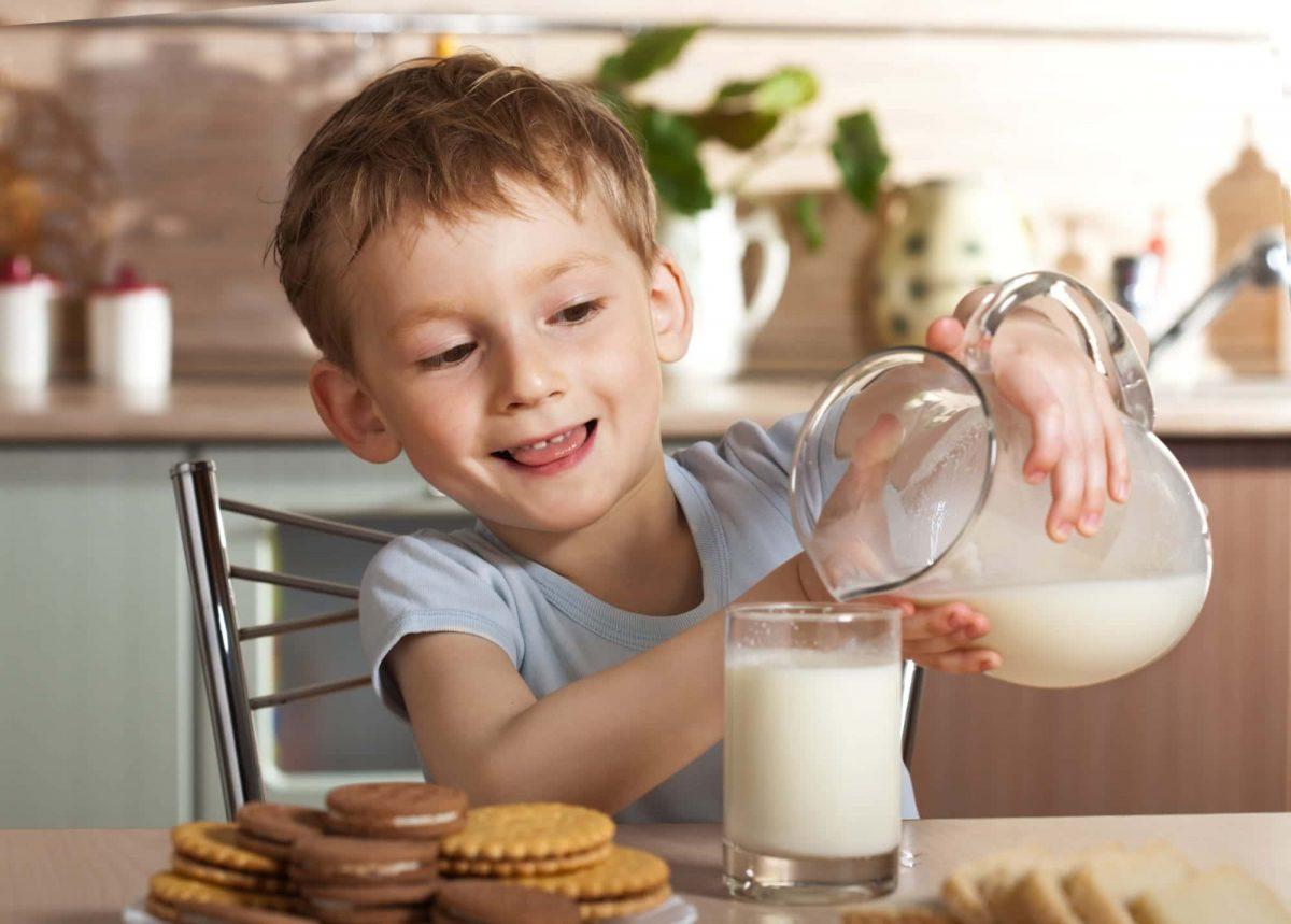 leche alimento alergia