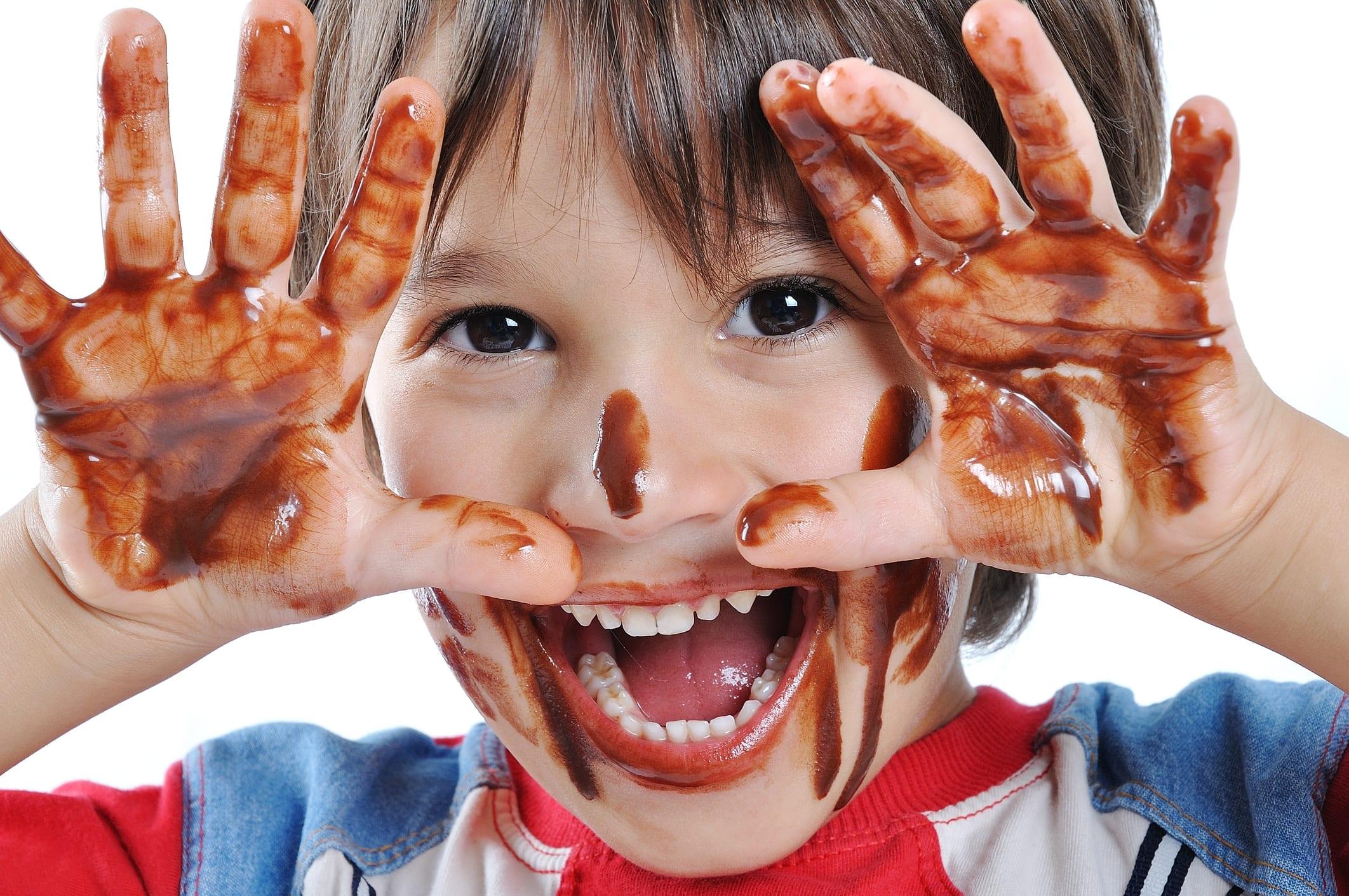 chocolate y su azúcar
