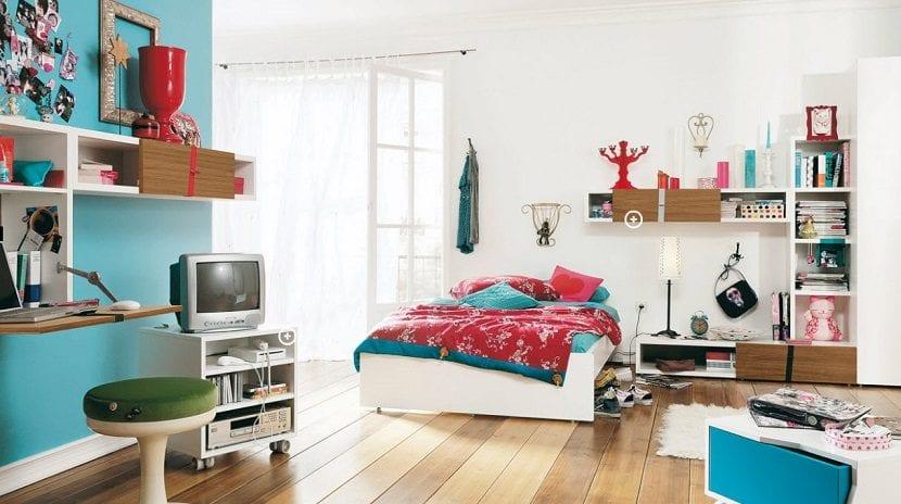 dormitorio adolescente secundaria