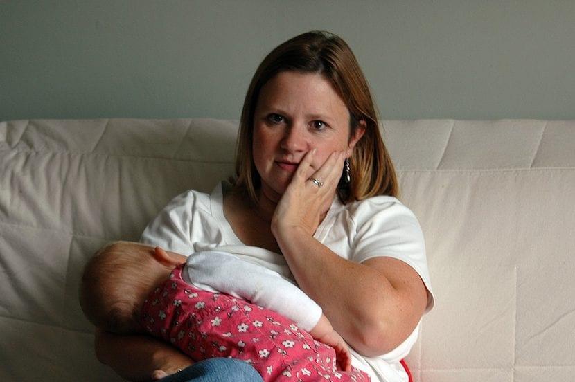 Mamá con dolor de muelas