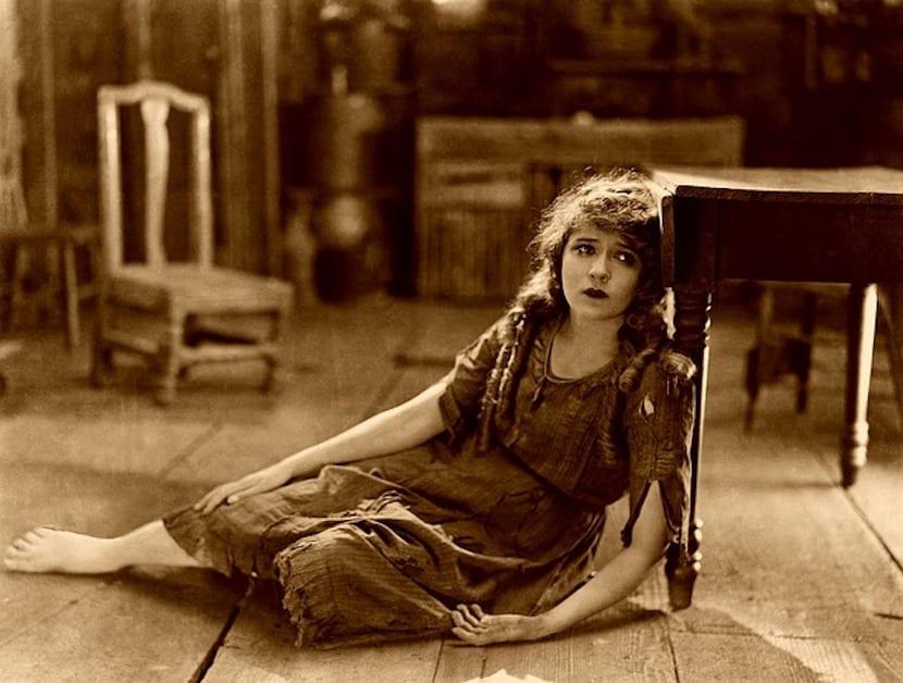 Fotograma de película muda: Mary Pickford
