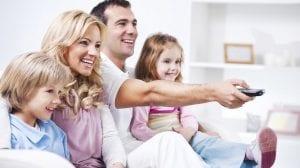 Ver pelicula en familia