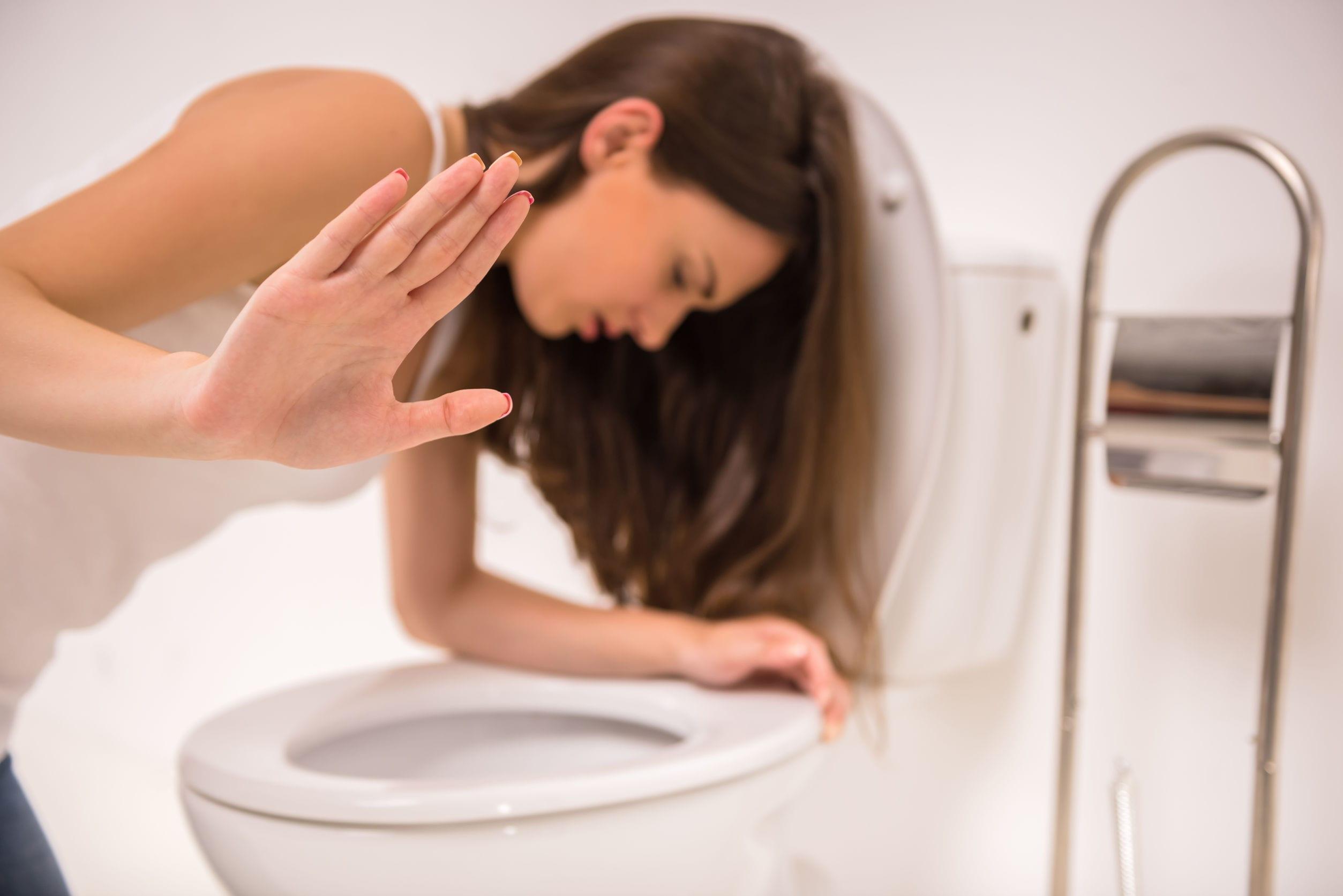 Vómitos en la bulimia