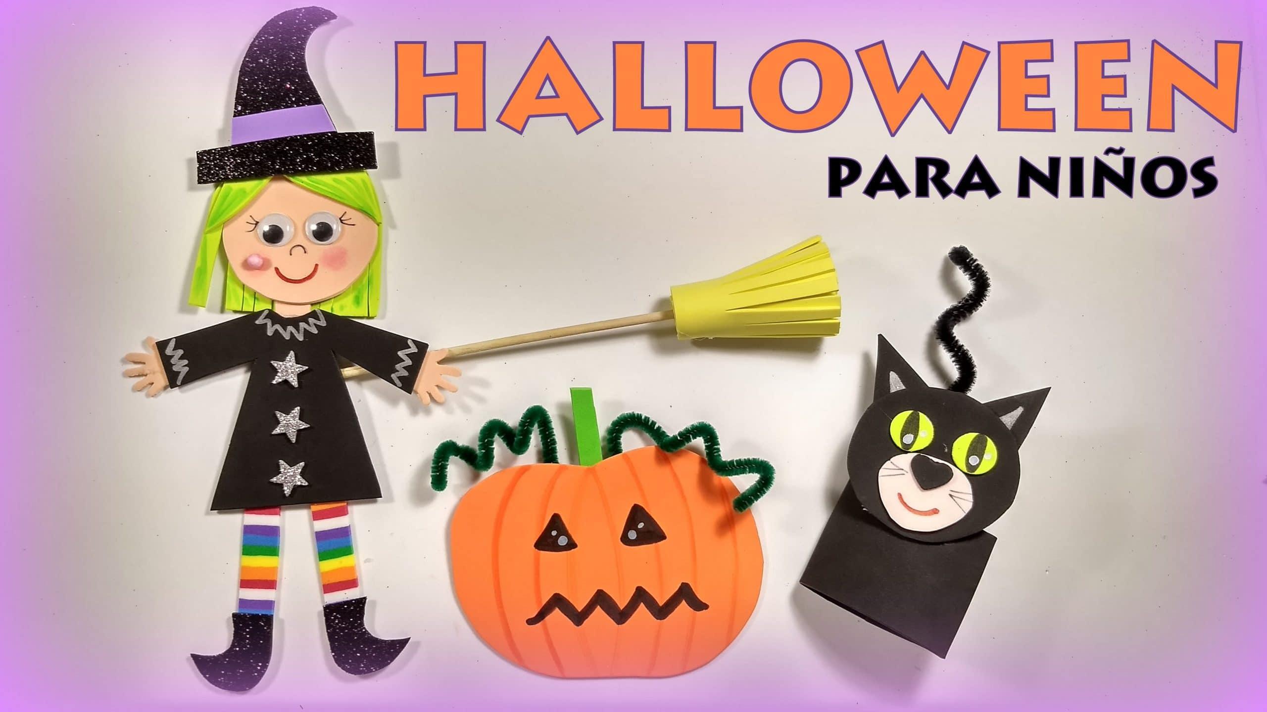 Manualidades Halloween Ninos.Halloween Manualidades Para Ninos Muy Faciles