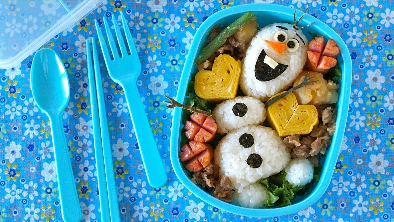 fiambrera saludable Olaf