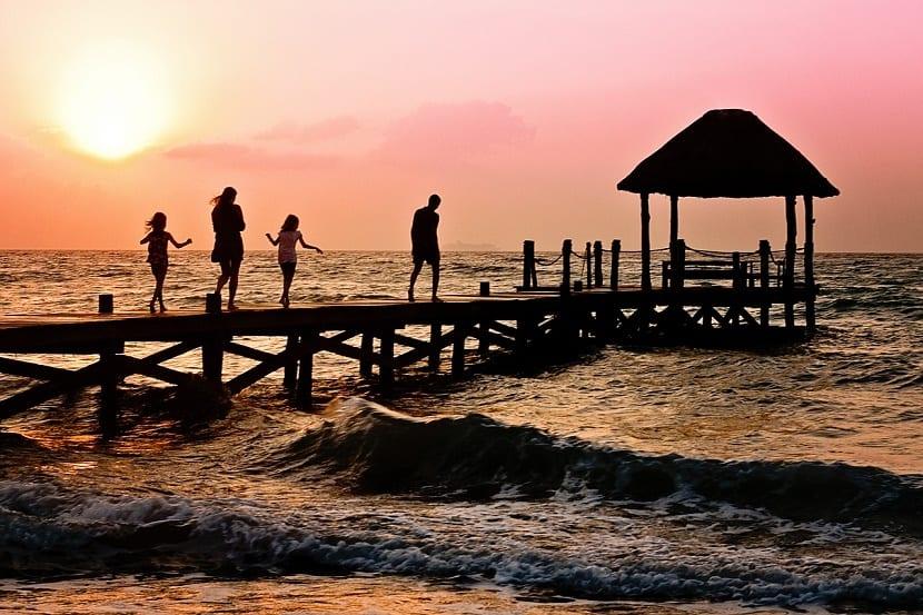 escapadas de fin de semana con niños al mar