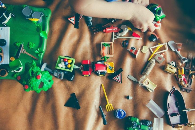 exceso de juguetes tras las navidades