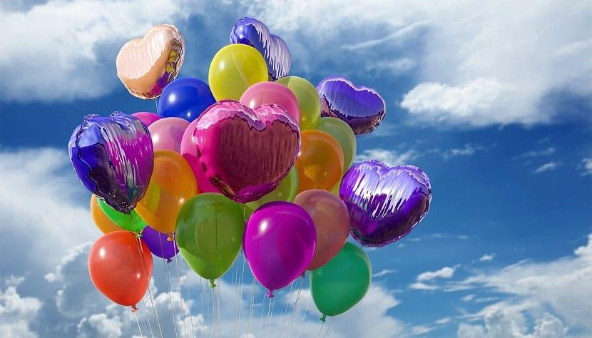 manualidades con niños con globos