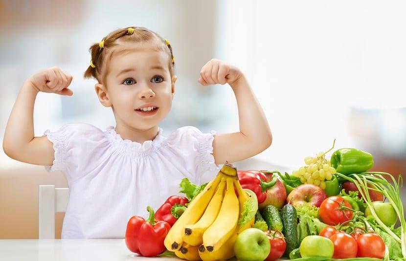 reforzar el sistema inmunológico de los niños alimentación vitamina C