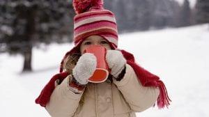 reforzar el sistema inmunológico de los niños nieve