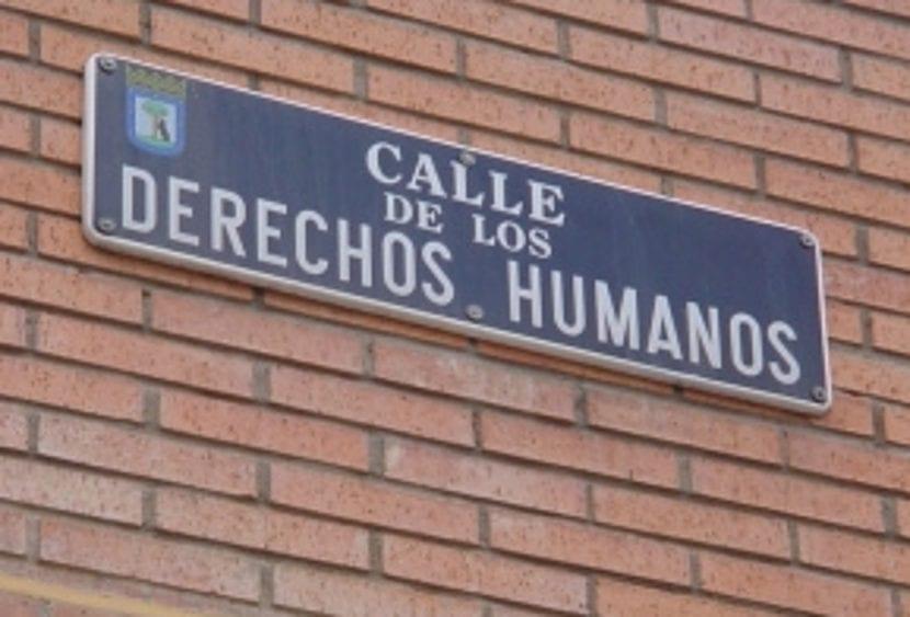 Calle de los Derechos Humanos