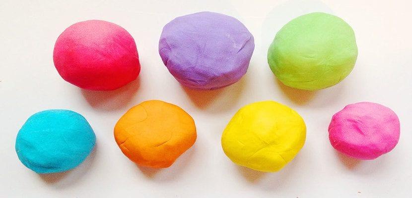 Bolas de pasta de sal