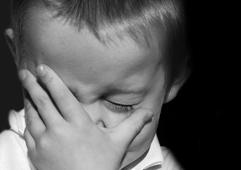 Emociones de un niño