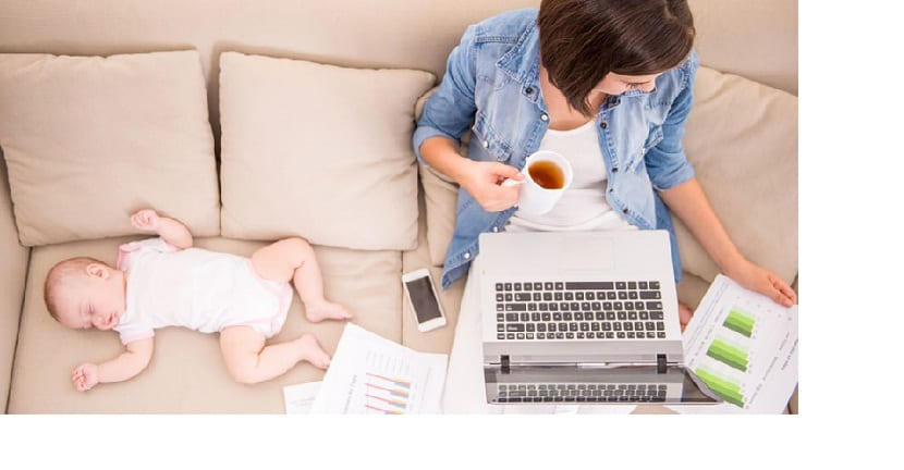 Buscar trabajo después de la maternidad