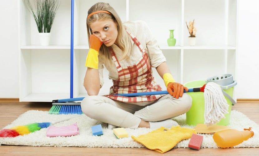 Mamá y la limpieza
