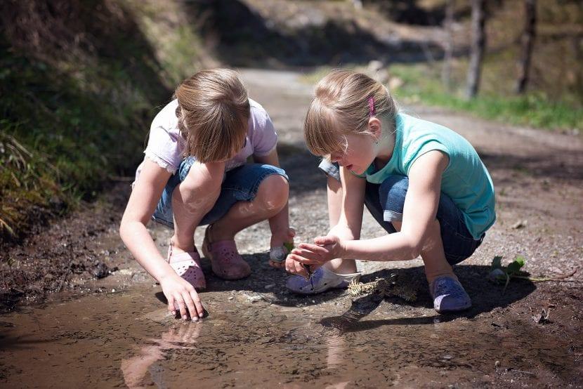 Niños y conexión con la naturaleza