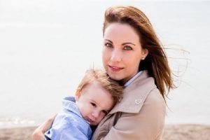 madre y mujer trabajadora de éxito