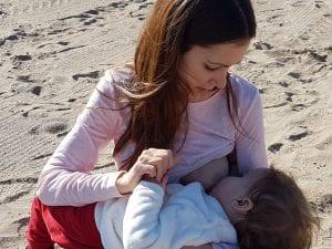 Amamantado a mi bebé