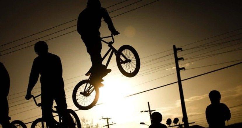 bici acrobacias