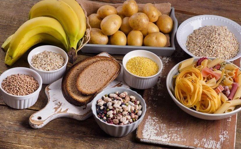 Alimentos ricos en glúcidos