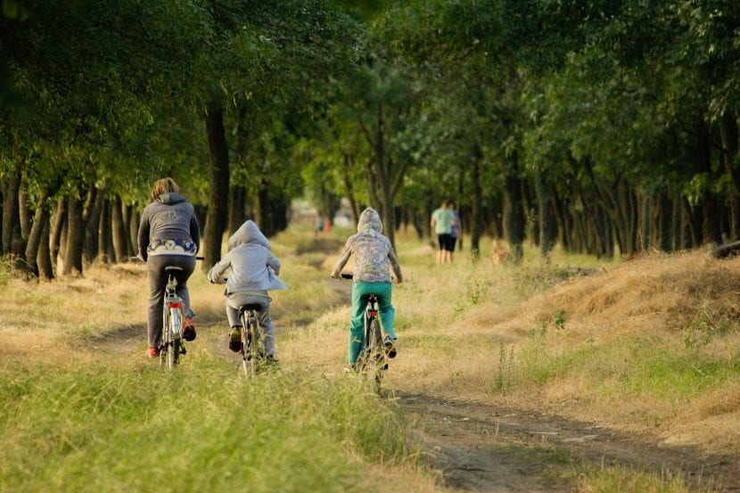 bebenicios de montar en bicicleta para los niños