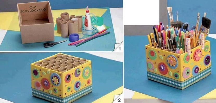 Caja para lápices