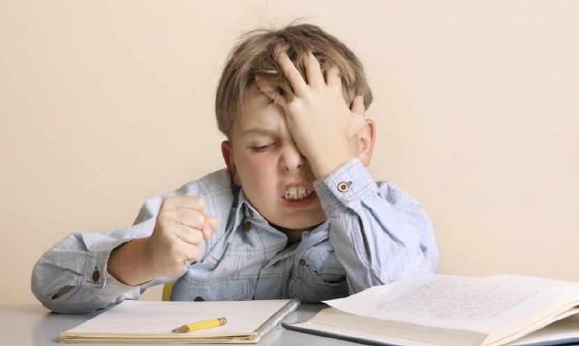 enseñar gestión frustración