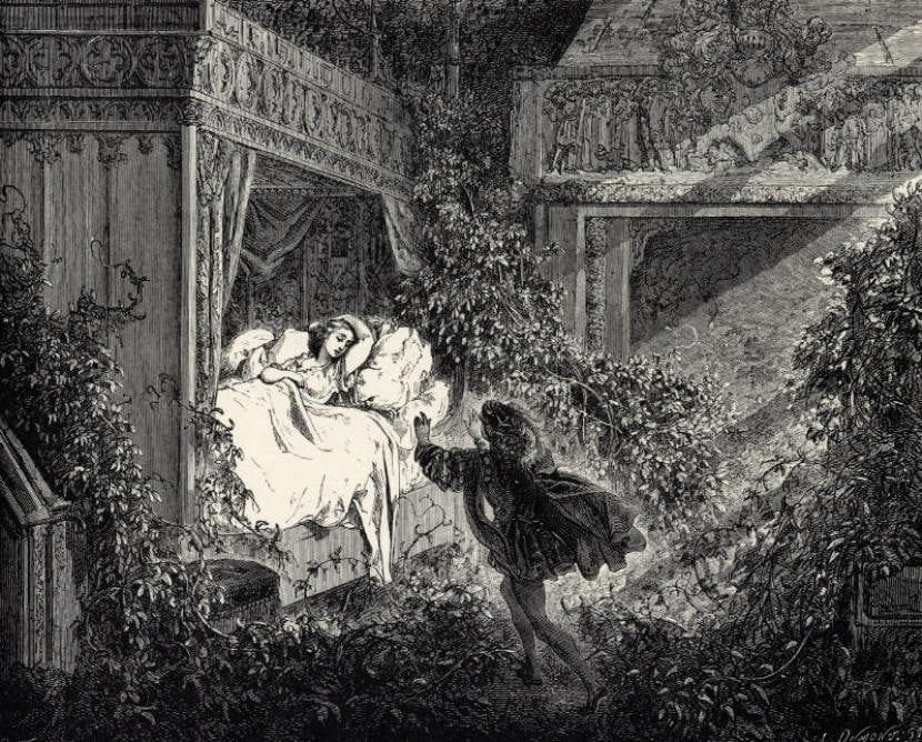 ilustración perrault