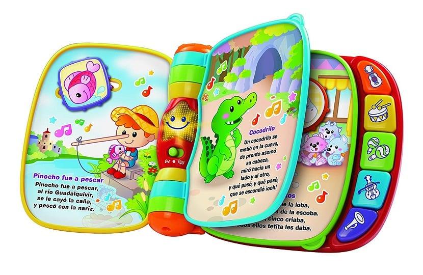 Libro musical para bebés
