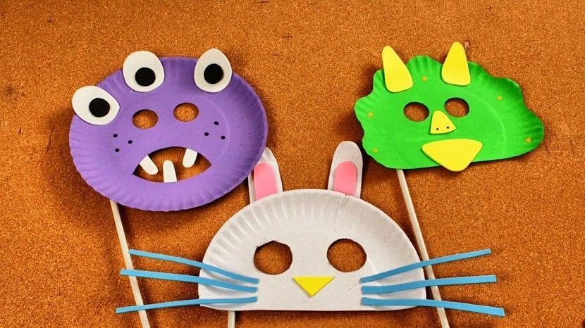 Máscaras para niños