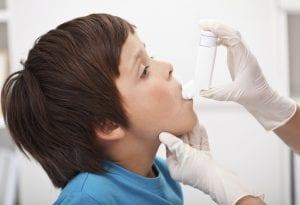 Niño asmático