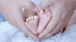 Pies de recién nacido