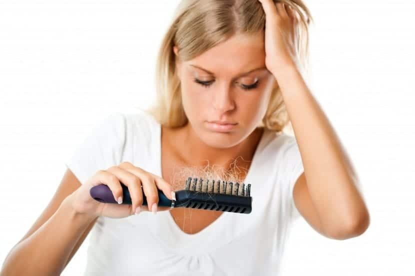 Caída del pelo tras el parto