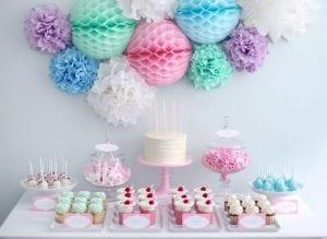 Decoración de cumpleaños infantil