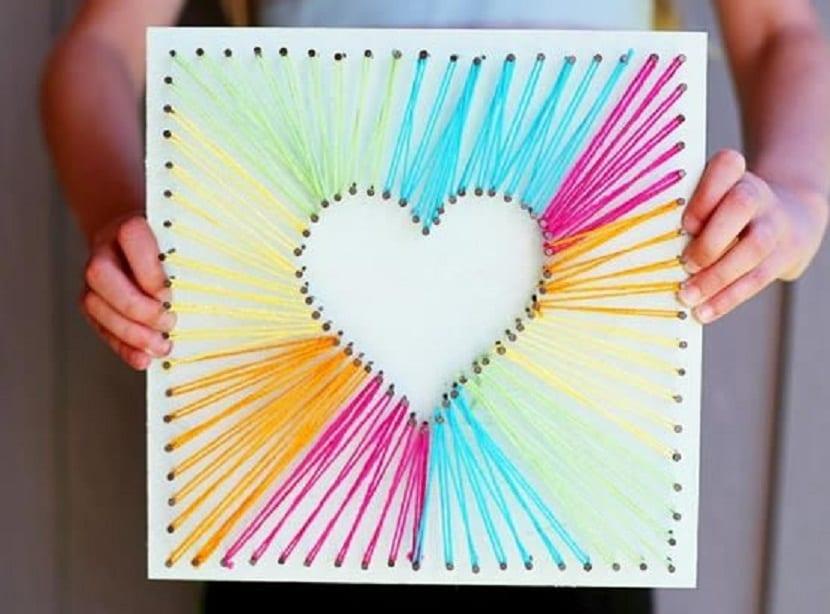 Hilorama de corazón