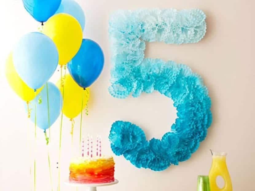 Número 5 Diy